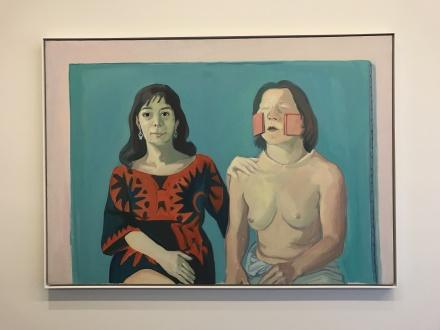 Maria Lassing, Selbstporträt mit Silvia/Silvia Goldsmith und Ich (1972/73)