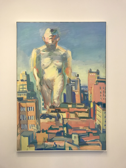 Maria Lassnig, Woman Power (1979)