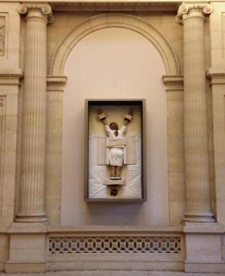 Maurizio Cattelan, Untitled (2007), via Art Observed