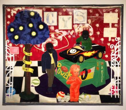 Kerry James Marshall, The Lost Boys (1993), via Art Observed
