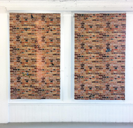 Vittorio Brodmann (Installation View), via Art Observed