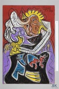 Fake Picasso, via NYT