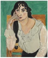 Henri Matisse, L'Italienne (Lorette) (1917), via Christie's