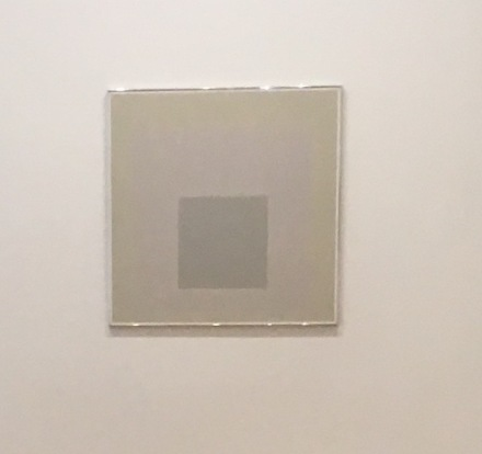 Josef Albers, Homage to the Square [Ephemeral] (1966), via Art Observed