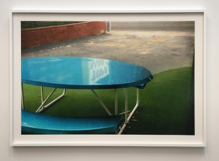 William Eggleston, Untitled from The Democratic Forest, c. (1983-1986), via Art Observed
