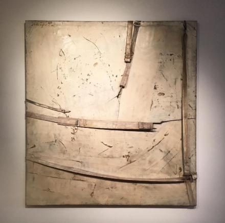 Salvatore Scarpitta, Tishamingo (For Franz Kline (1964), via Art Observed