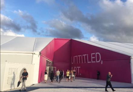 Untitled Art Fair, via Art Observed