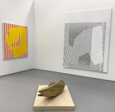 Stefan Behlau, Klaus Joerres and Robert Lazzarini at Dittrich and Schlectreim for Untitled Art Fair, via Art
