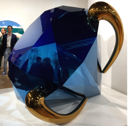Jeff Koons at Gagosian, via Art Observed