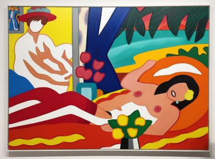 Tom Wesselmann at Mitchell-Innes and Nash, via Art Observed
