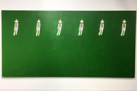 Alex Katz at Gavin Brown's Enterprise, via Art Observed