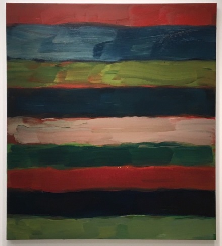 Sean Scully, Landline Bloom (2016), via Art Observed