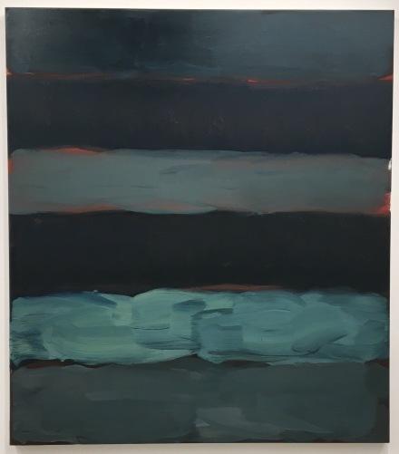 Sean Scully, Landline Darkness (2015), via Art Observed