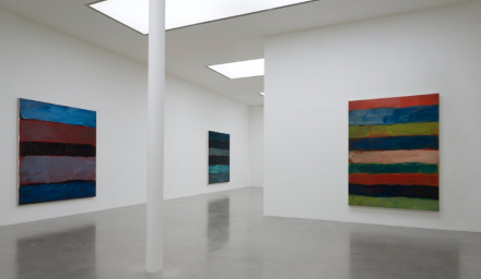Sean Scully, Horizon (Installation View), via Timothy Taylor