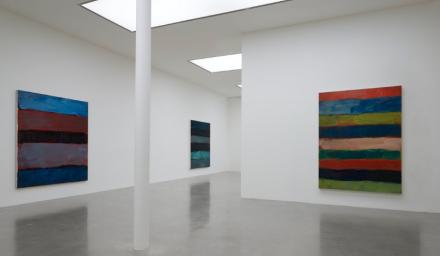 Sean Scully, Horizon (Installation View), via Timothy Taylor