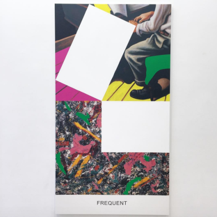 John Baldessari, Pollock/Benton: Frequent (2016), via Art Observed