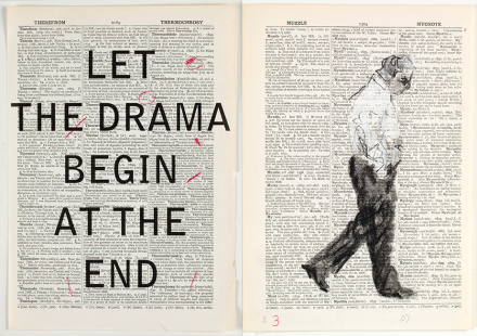 William Kentridge, Second Hand Reading (2013), via Whitechapel Gallery