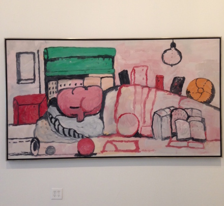 Philip Guston, Alone (1971), all images via Osman Can Yerebakan for Art Observed