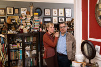mark-dion-and-dana-sherwood-in-their-home-via-nyt