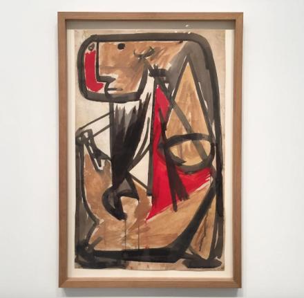 Anthony Caro, Figure (1955/1956), via Art Observed