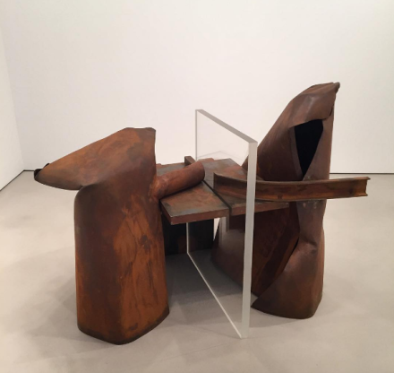 Anthony Caro, Sackbut (2011/2012), via Art Observed