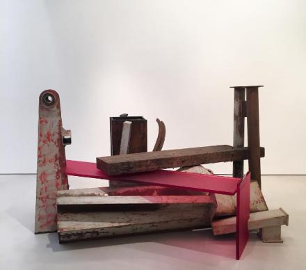 Anthony Caro, Terminus (2013), via Art Observed