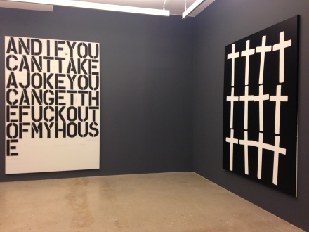Andy, Wool, Guyton at Nahmad Contemporary (Installation View)