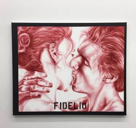 Zoe Barcza, Fidelio (2016), via Art Observed