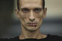 Pyotr Pavlensky, via Art Newspaper