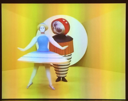 Oskar Schlemmer, Triadic Ballet (1922 1970), via Art Observed