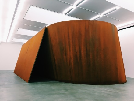 Richard Serra, NJ-2, (2016), via Art Observed