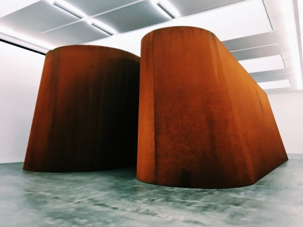 Richard Serra, NJ-2 (2016), via Art Observed