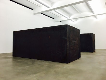 Richard Serra, Rotate, 2016, via Art Observed