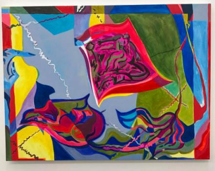 Mira Dancy, Psychic Script, (2016), via Art Observed