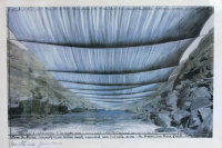 Christo's Over the River, via NYT