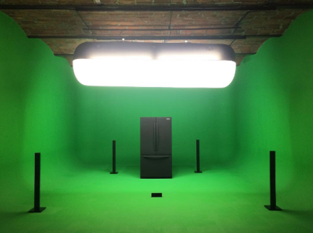 Mark Leckey, GreenScreenRefrigerator (2008-2016), via Art Observed
