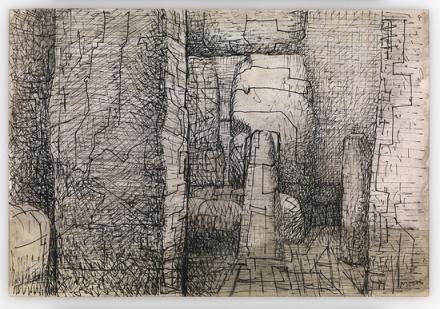 Henry Moore, Stonehenge, 1972