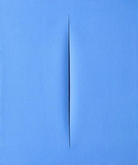 Lucio Fontana, Concetto Spaziale, Attesa (1964-1965), via Cardi Gallery