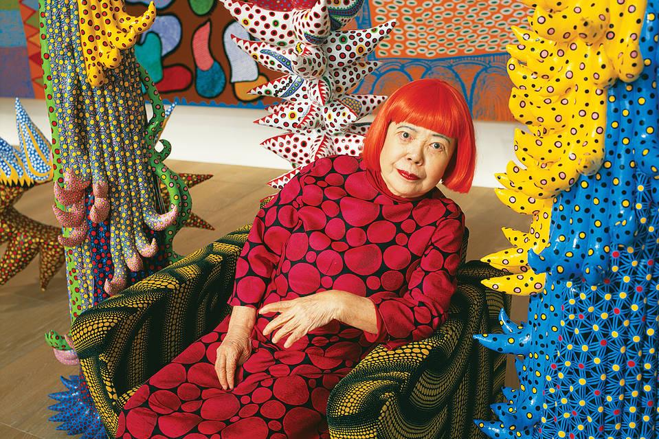 a biography and life work of yayoi kusama a japanese artist