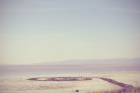 Spiral Jetty, via Hyperallergic