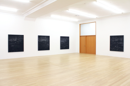 Miles Coolidge, Coal Seam redux (Installation View), via Peter Blum