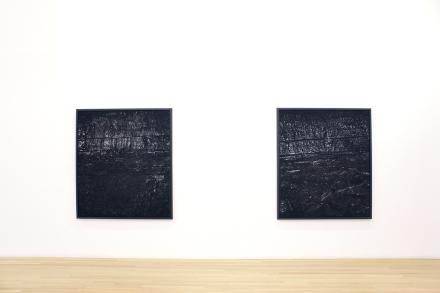 Miles Coolidge, Coal Seam redux (Installation View), via Peter Blum