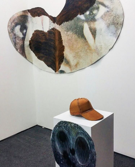 Sarah Schönfeld at Gildar Gallery, via Art Observed