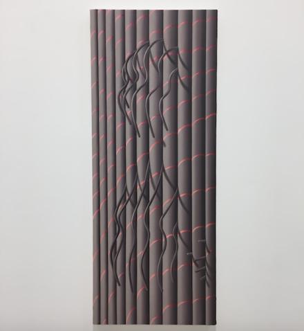 Sascha Braunig, Pillar (2015), via Art Observed
