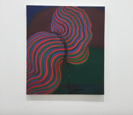 Sascha Braunig, Bridle (2013), via Art Observed