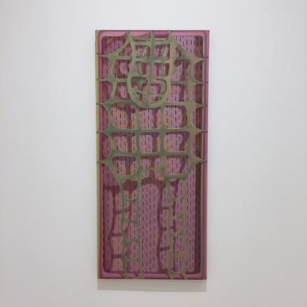 Sascha Braunig, Hide (2015), via Art Observed