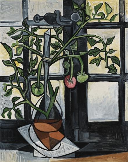 Pablo Picasso, Plant de Tomates (1944), via Sotheby's