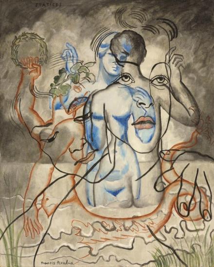 Francis Picabia, Statices (circa 1929), via Christie's