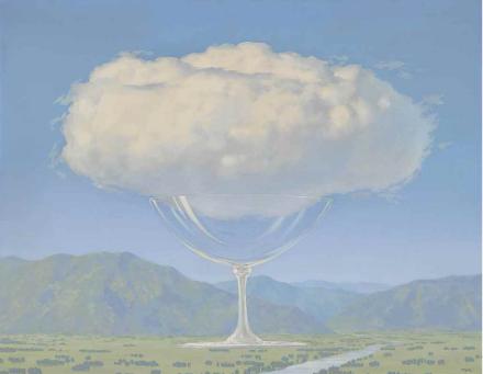 René Magritte, La corde sensible (1960, via Christie's