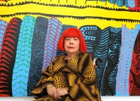 Yayoi Kusama, via Washington Post